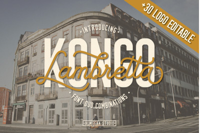 Lambretta Kongo Font Duo + Extras