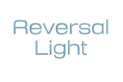 Reversal Light 15 sizes embroidery font (RLA)