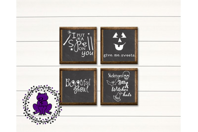 Bats, Witches, Hats Halloween svg cut files
