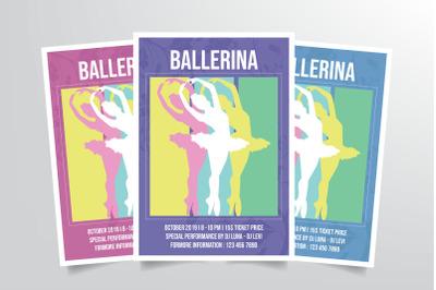 Ballerina Ballet Dance Flyer Template