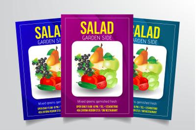 Salad Flyer Template