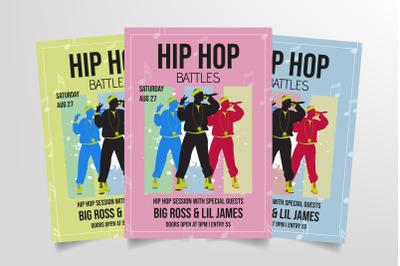 Hip Hop Battles Flyer Template