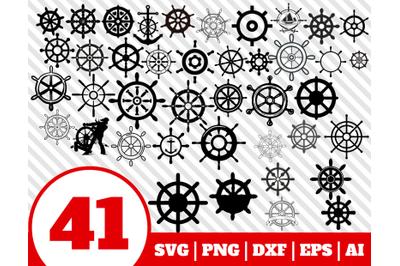 41 SHIPS WHEEL SVG - ships wheel clipart - wheel vector - sailor