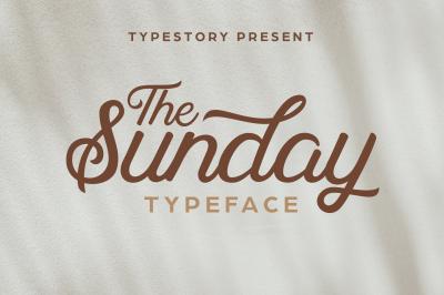 Sunday story typeface