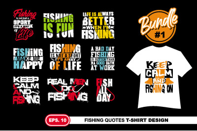 Fishing Quotes T shirt Design. Eps 10