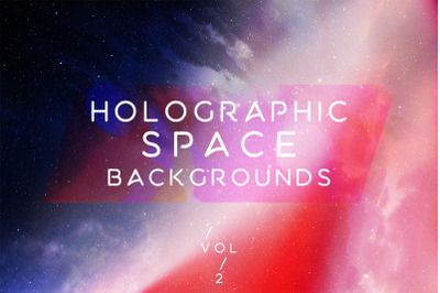 Holographic Space Backgrounds 2