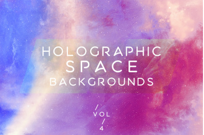 Holographic Space Backgrounds 4