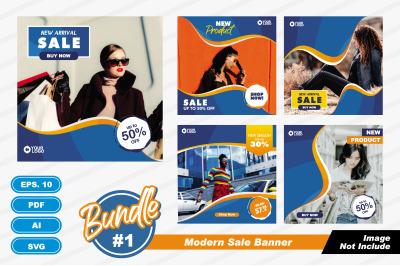 Modern Sale Banner. Eps 10