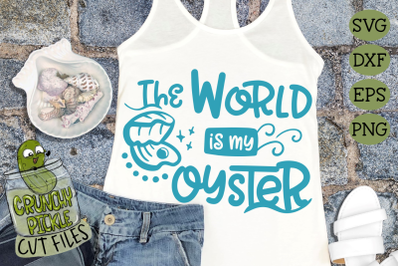 The World is my Oyster SVG