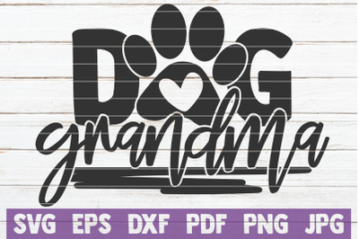 Dog Grandma SVG Cut File