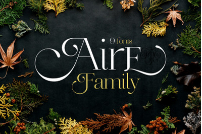 Aire Family Font