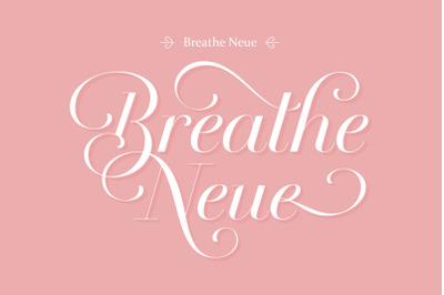 Breathe Neue Font