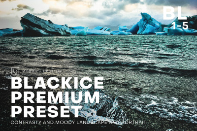 BLACKICE High Quality Lightroom Preset