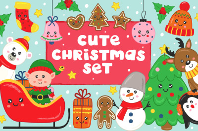 Cute Christmas set