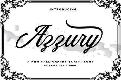 Azzury Script