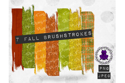 Brushstroke Bundle Fall Thanksgiving Halloween