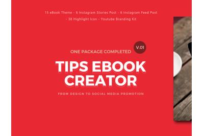 Tips eBook Template Creator