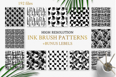 Seamless Patterns Iink splash watercolor png