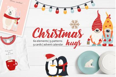 Christmas hugs collection