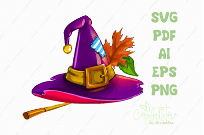 Witch hat SVG Witch's hat Pointed hat download, Traffic cone PNG,  Hal