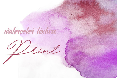 watercolor texture. Print