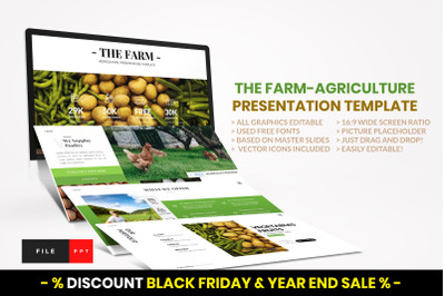 Farm - Agriculture PowerPoint Template