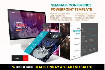 Seminar - Conference PowerPoint Template
