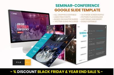Seminar - Conference Google Slide Template