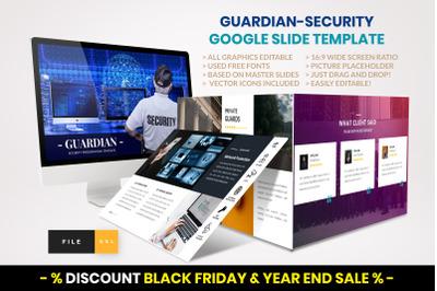 Guardian - Security Google Slide template