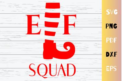 Elf Squad SVG Cut File