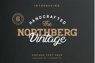 Northberg Vintage Font Pack