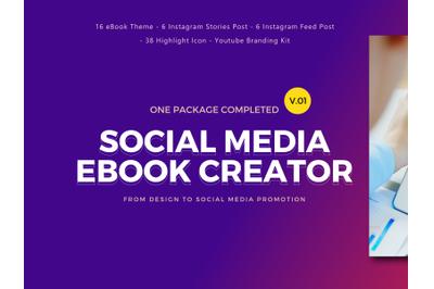 Social Media Marketing eBook Creator Template