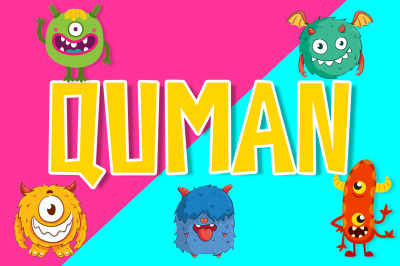 Quman Cartoon Font