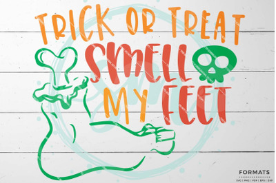 Trick or Treat Kid Halloween SVG