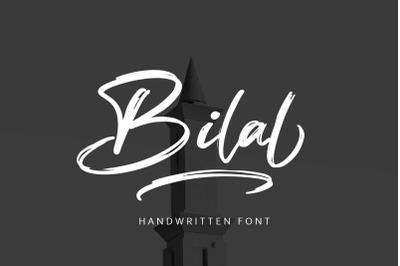 Bilal Brush Script Font