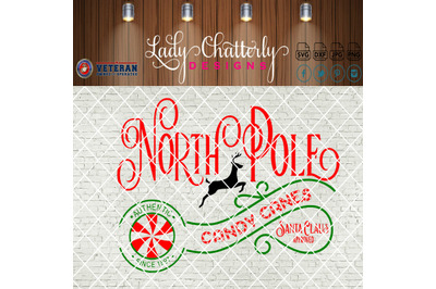 North Pole Candy Canes