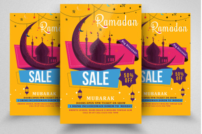 Ramadan Sale Offer Flyer/Poster
