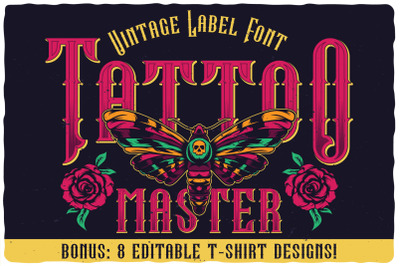 Tattoo Master label font