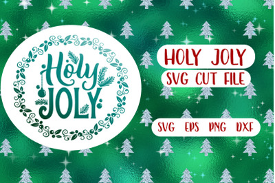 Holy Joly SVG cut file