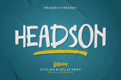 Headson - Display Font