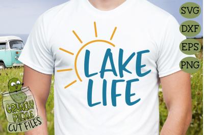 Lake Life Sun 2 SVG File