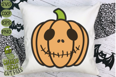 Halloween Jack O'Lantern SVG 01