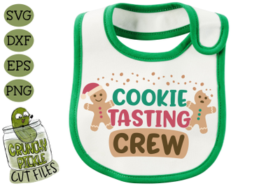 Cookie Tasting Crew Christmas SVG File