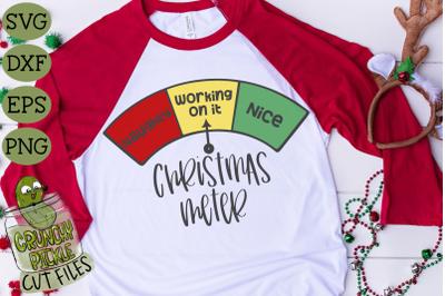 Christmas Meter SVG File
