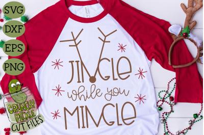 Jingle While You Mingle SVG File