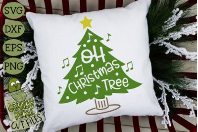 Oh Christmas Tree SVG File
