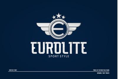 EUROLITE Sport Font + BONUS