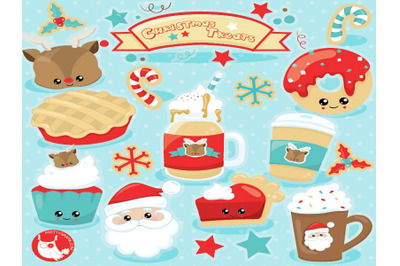 Christmas Treats cliparts