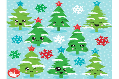Christmas Tree Faces