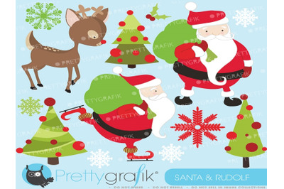 Santa Claus Christmas Clipart